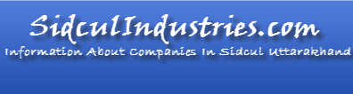Sidcul Industries