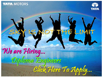 Tata Motor Vacancy for Diploma Holders
